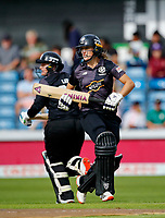Cricket - 2021 Season - The Hundred: Women - Northern Superchargers vs Manchester Originals - Emerald Headingley, Leeds - Thursday 12th August 2021<br /> <br /> Emma Lamb of Manchester Originals, at Emerald Headingley<br /> <br /> COLORSPORT/ALAN MARTIN
