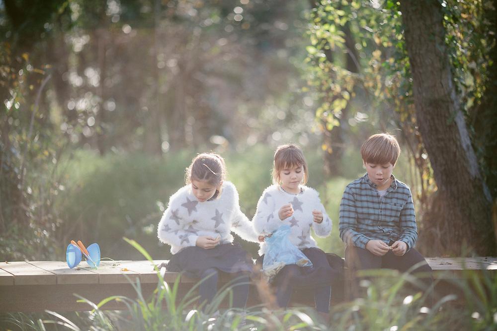 09 de desembre de 2016. L'Aina, la Gina i l'Ethan, fotografiats a Banyoles. <br /> Fotpgrafies de: Toni Vilches - Zoom.