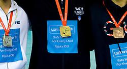 Silver, Gold and bronze medal at LEN European Short Course Swimming Championships Rijeka 2008, on December 14, 2008,  in Kantrida pool, Rijeka, Croatia. (Photo by Vid Ponikvar / Sportida)
