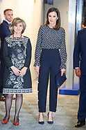 040319 Queen Letizia attends 'Media and Mental Health' meeting