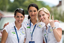 Staff of Tour of Slovenia after 5th Stage of 26th Tour of Slovenia 2019 cycling race between Trebnje and Novo mesto (167,5 km), on June 23, 2019 in Slovenia. Photo by Matic Klansek Velej / Sportida