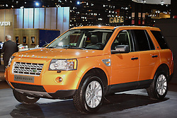 08 February 2007: Land Rover. The Chicago Auto Show is a charity event of the Chicago Automobile Trade Association (CATA) and is held annually at McCormick Place in Chicago Illinois.