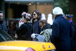 October 26, 2016 - New York, New York, USA - Sandra Bullock bei den Dreharbeiten zun Kinoflim 'Ocean's Eight' in den Straßen von New York, 26.10.2016 (Credit Image: © Future-Image via ZUMA Press)
