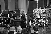 STEVEN BERKOFF;  A Service of Thanksgiving for the life of RAPHAEL B JAGO. The Actors' Church , St.  Paul's Covent  Garden. London. 2 June 2015