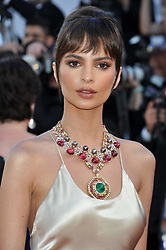 Celebrities are seen on the red Carpet of 'Le Phantome d'Ismael' at the 2017 Cannes Film Festival in Cannes, France. 17 May 2017 Pictured: Emily Ratajkowski. Photo credit: Pongo / MEGA TheMegaAgency.com +1 888 505 6342