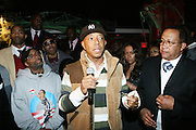 """l to r: Spike Lee, Russell Simmons and Dr. Ben Chavis at The Russell Simmons and Spike Lee  co-hosted """"I AM C.H.A.N.G.E!"""" Get out the Vote Party presented by The Source Magazine and The HipHop Summit Action Network held at Home on October 30, 2008 in New York City"""