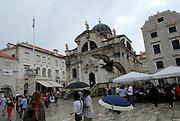Church of Sveti Vlaho (Saint Blaise), Dubrovnik old town, Croatia