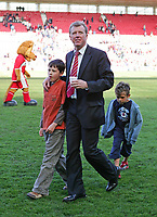 Photo: Andrew Unwin.<br />Middlesbrough v Everton. The Barclays Premiership. 29/04/2006.<br />Middlesbrough's manager, Steve McLaren.