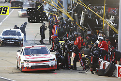 April 20, 2018 - Richmond, Virginia, United States of America - April 20, 2018 - Richmond, Virginia, USA: John Hunter Nemechek (42) brings his car down pit road for service during the ToyotaCare 250 at Richmond Raceway in Richmond, Virginia. (Credit Image: © Chris Owens Asp Inc/ASP via ZUMA Wire)