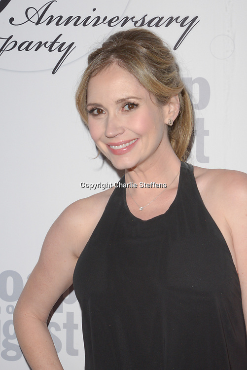 ASHLEY JONES at Soap Opera Digest's 40th Anniversary party at The Argyle Hollywood in Los Angeles, California
