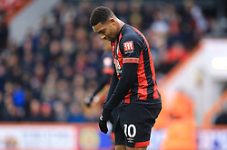 Bournemouth's Jordon Ibe rues a missed chance during the Emirates FA Cup, third round match at the Vitality Stadium, Bournemouth.