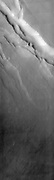 This THEMIS image covers a tract of plateau territory called Ophir Planum.