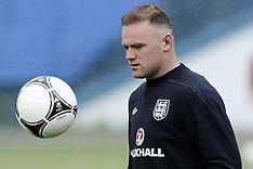 England Training Euro 2012 13-6-12
