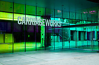 CARRIAGEWORKS ,Sydney UNVEIL LARGE-SCALE ARTWORKS <br /> PRESENTED FREE TO THE PUBLIC <br /> New works by leading Australian artists employ light as a medium to explore our basic interconnectivity as humans