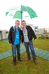 The Proclaimers backstage..Saturday, T in the Park 2010..Pic ©2010 Michael Schofield. All Rights Reserved.