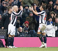 Photo: Steve Bond/Sportsbeat Images.<br />West Bromwich Albion v Charlton Athletic. Coca Cola Championship. 15/12/2007. Kevin Phillips (L) returns to football after injury as sub for Filipe Teixeira (R)