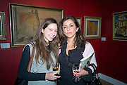 ARIANNE SAMPSON; LEILA SAMPSON, Preview of Greek Sale sponsored by Citibank. Sotheby's. New Bond st. London. 10 November 2008 *** Local Caption *** -DO NOT ARCHIVE -Copyright Photograph by Dafydd Jones. 248 Clapham Rd. London SW9 0PZ. Tel 0207 820 0771. www.dafjones.com