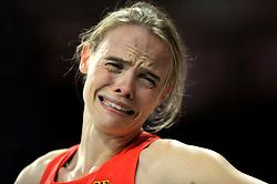 Aug. 6, 2012 - London, England, United Kingdom - Silke Spiegelburg (GER) (GER) in the Women's Pole Vault in Athletics in the London Olympics 2012 on August 06,2012 in London, United Kingdom.© pixathlon