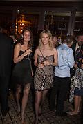 LUISA ALZAGA; TEODELINA ESCALANTE, Dinner in aid of the China Tiger Revival hosted by Sir David Tang and Stephen Fry  at China Tang, Park Lane, London. 1 October 2013. ,