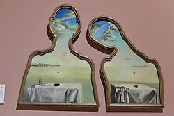 Salvador Dali, Couple with their Heads in the Clouds, Scottish National Gallery of Modern Art  (Modern One) Surreal Encounters Collection, Edinburgh, 2nd June 2016, <br /> (c) Brian Anderson | Edinburgh Elite media
