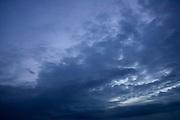 Stormy sky, Norfolk, England, United Kingdom