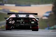 October 15-17, 2020. IMSA Weathertech Petit Le Mans: #48 Paul Miller Racing Lamborghini Huracan GT3, GTD: Bryan Sellers, Madison Snow, Corey Lewis