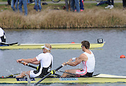 Eton, United Kingdom    GBR M2- bow Peter REED and Andrew TRIGGS HODGE  winning the men's pair final, at the 2012 GB Rowing Trials, Dorney Lake. Near Windsor Berks Sunday  11/03/2012  [Mandatory Credit; Peter Spurrier/Intersport-images]