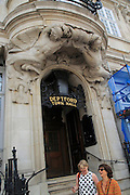 Entrance to town hall, Deptford, south London, England, UK built 1903-05 architectural sculpture by Henry Poole.