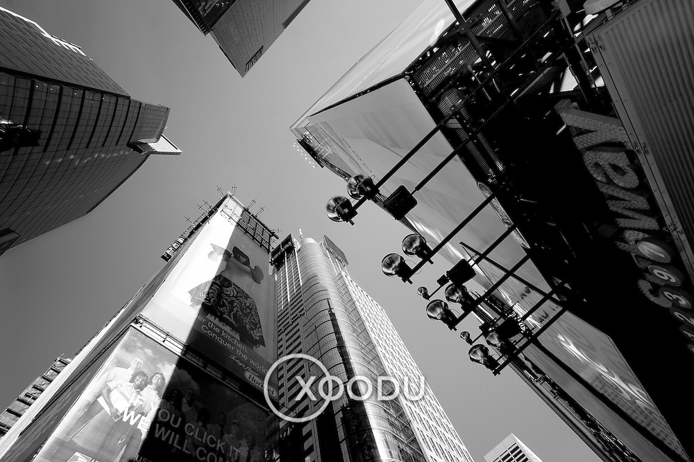 Look out above, New York, United States (March 2005)