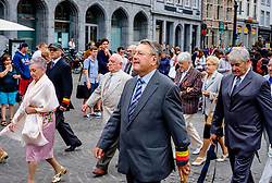 Bruges, Belgium - National Day - City officials parade through the streets of Bruges<br /> <br /> (c) Andrew Wilson | Edinburgh Elite media