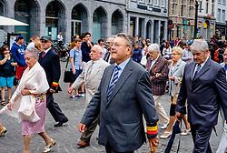 Bruges, Belgium - National Day - City officials parade through the streets of Bruges<br /> <br /> (c) Andrew Wilson | Edinburgh Elite media