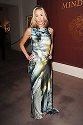 LISA BUTCHER at the Krug Mindshare auction held at Sotheby's, New Bond Street, London on 1st November 2010.