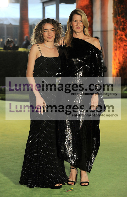 Jaya Harper and Laura Dern at the Academy Museum of Motion Pictures Opening Gala held in Los Angeles, USA on September 25, 2021.