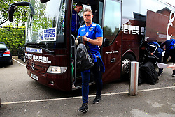 James Clarke of Bristol Rovers arrives at Highbury Stadium - Mandatory by-line: Matt McNulty/JMP - 27/04/2019 - FOOTBALL - Highbury Stadium - Fleetwood, England - Fleetwood Town v Bristol Rovers - Sky Bet League One