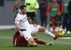 February 3, 2019 - Rome, Italy - AS Roma v AC Milan - Serie A.Hakan Calhanoglu of Milan at Olimpico Stadium in Rome, Italy on February 3, 2018. (Credit Image: © Matteo Ciambelli/NurPhoto via ZUMA Press)
