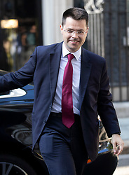 © Licensed to London News Pictures. 22/07/2019. London, UK. Secretary of State for Housing, Communities and Local Government James Brokenshire arrives for Prime Minister Theresa May's farewell drinks reception at Downing Street.  Voting in the Conservative party leadership election ends today with the results to be announced tomorrow. Photo credit: Peter Macdiarmid/LNP