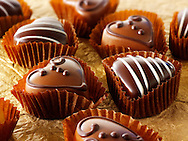 """Hand made chocolates stock photos. The perfect chocolate stock images to say """"I love you"""" form Funky Stock Photos Library."""