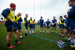 Jake Woolmore of Bristol Bears in action during a training session - Rogan/JMP - 04/03/2021 - RUGBY UNION - Bristol Bears High Performance Centre - Bristol, England.