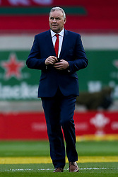 Wales head coach Wayne Pivac - Mandatory by-line: Robbie Stephenson/JMP - 28/11/2020 - RUGBY - Parc y Scarlets - Swansea, Wales - Wales v England - Autumn Nations Cup