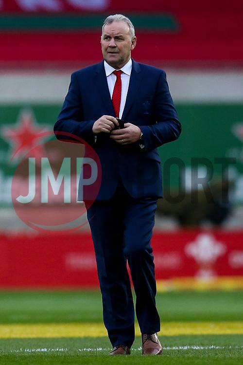 Wales head coach Wayne Pivac - Mandatory by-line: Robbie Stephenson/JMP - 28/11/2020 - RUGBY - Parc y Scarlets - Swansea, Wales - Wales v England - Autumn Nations Cup
