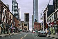 Yonge Street, North of Wellesley Street