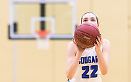 Lutheran St. Charles' Ashley Ernstmeyer shoots from the free throw line during a girls semifinal basketball game of the Ft. Zumwalt North Invitational  on Wednesday, Dec. 12, 2018, at Fort Zumwalt East High School in St. Peters, Mo.  Gordon Radford   Special to STLhighschoolsports.com