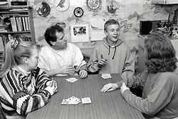 Family playing cards, UK 1995