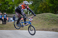 #62 (VON NIEDERHAUSERN Christa) SUI during practice at Round 3 of the 2019 UCI BMX Supercross World Cup in Papendal, The Netherlands