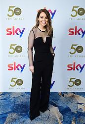 Katie Piper attending the TRIC Awards 2019 50th Birthday Celebration held at the Grosvenor House Hotel, London.