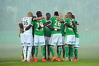 Equipe Saint Etienne - 23.05.2015 - Saint Etienne / Guingamp - 38e journee Ligue 1<br />Photo : Jean Paul Thomas / Icon Sport