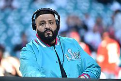 DJ Khaled attends Super Bowl LIV at Hard Rock Stadium on February 02, 2020 in Miami Gardens, Florida. Photo by Lionel Hahn/ABACAPRESS.COM