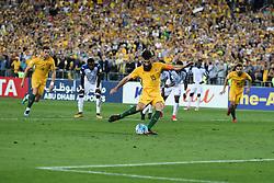 Australia Vs Honduras world cup qualifier, intercontinental Playoff. 15 Nov 2017 Pictured: Mile Jedinak. Photo credit: MEGA TheMegaAgency.com +1 888 505 6342