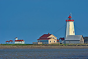 Miscou Island Lighthouse. Gulf of St. Lawrence<br />Miscou Island<br />New Brunswick<br />Canada