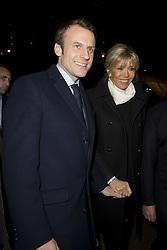 February 22, 2017 - Paris, France, France - Emmanuel Macron et sa femme Brigitte (Credit Image: © Panoramic via ZUMA Press)